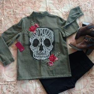 Skull Jacket (only 1 medium jacket left!)